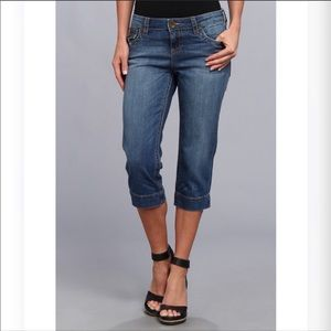 Kut from the kloth Natalie crop flap pocket sz.12